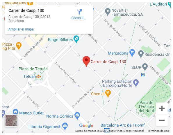 Mapa Sede